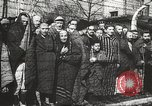 Image of prisoners Poland, 1945, second 26 stock footage video 65675061516