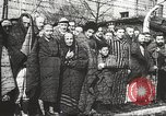 Image of prisoners Poland, 1945, second 28 stock footage video 65675061516
