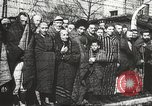 Image of prisoners Poland, 1945, second 29 stock footage video 65675061516
