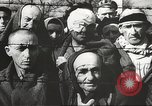 Image of prisoners Poland, 1945, second 30 stock footage video 65675061516