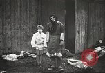 Image of prisoners Poland, 1945, second 51 stock footage video 65675061516