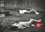 Image of prisoners Poland, 1945, second 59 stock footage video 65675061516