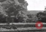 Image of Orient Express passenger train Vienna Austria, 1938, second 30 stock footage video 65675061521