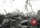 Image of Allied P-40 aircraft bombing Japanese at Myitkina in World War II Burma, 1944, second 33 stock footage video 65675061532