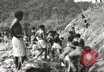 Image of 116th Engineer Battalion 41st Division soldiers New Guinea, 1943, second 14 stock footage video 65675061550