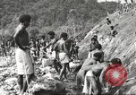 Image of 116th Engineer Battalion 41st Division soldiers New Guinea, 1943, second 15 stock footage video 65675061550