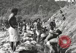 Image of 116th Engineer Battalion 41st Division soldiers New Guinea, 1943, second 16 stock footage video 65675061550