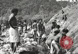 Image of 116th Engineer Battalion 41st Division soldiers New Guinea, 1943, second 17 stock footage video 65675061550