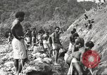 Image of 116th Engineer Battalion 41st Division soldiers New Guinea, 1943, second 20 stock footage video 65675061550