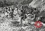 Image of 116th Engineer Battalion 41st Division soldiers New Guinea, 1943, second 34 stock footage video 65675061550