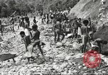 Image of 116th Engineer Battalion 41st Division soldiers New Guinea, 1943, second 35 stock footage video 65675061550