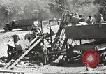 Image of United States 116th Engineer Battalion 41st Division soldiers New Guinea, 1943, second 15 stock footage video 65675061551