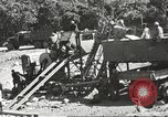 Image of United States 116th Engineer Battalion 41st Division soldiers New Guinea, 1943, second 24 stock footage video 65675061551