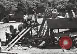 Image of United States 116th Engineer Battalion 41st Division soldiers New Guinea, 1943, second 25 stock footage video 65675061551