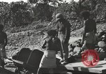 Image of United States 116th Engineer Battalion 41st Division soldiers New Guinea, 1943, second 29 stock footage video 65675061551