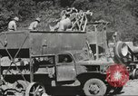 Image of United States 116th Engineer Battalion 41st Division soldiers New Guinea, 1943, second 53 stock footage video 65675061551