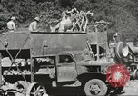 Image of United States 116th Engineer Battalion 41st Division soldiers New Guinea, 1943, second 54 stock footage video 65675061551