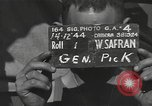 Image of Colonel Lewis A Pick Myitkyina Burma, 1944, second 4 stock footage video 65675061589