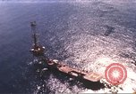 Image of offshore oil rig Atlantic Ocean, 1965, second 2 stock footage video 65675061602