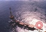 Image of offshore oil rig Atlantic Ocean, 1965, second 3 stock footage video 65675061602