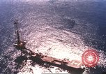 Image of offshore oil rig Atlantic Ocean, 1965, second 7 stock footage video 65675061602