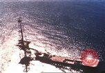 Image of offshore oil rig Atlantic Ocean, 1965, second 13 stock footage video 65675061602