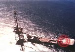 Image of offshore oil rig Atlantic Ocean, 1965, second 15 stock footage video 65675061602