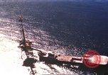 Image of offshore oil rig Atlantic Ocean, 1965, second 16 stock footage video 65675061602