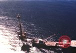 Image of offshore oil rig Atlantic Ocean, 1965, second 18 stock footage video 65675061602