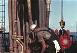 Image of offshore oil rig Atlantic Ocean, 1965, second 6 stock footage video 65675061603