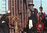 Image of offshore oil rig Atlantic Ocean, 1965, second 20 stock footage video 65675061603