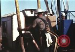 Image of offshore oil rig Atlantic Ocean, 1965, second 26 stock footage video 65675061603
