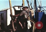 Image of offshore oil rig Atlantic Ocean, 1965, second 27 stock footage video 65675061603