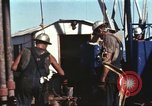 Image of offshore oil rig Atlantic Ocean, 1965, second 38 stock footage video 65675061603