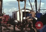 Image of offshore oil rig Atlantic Ocean, 1965, second 43 stock footage video 65675061603