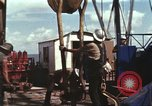 Image of offshore oil rig Atlantic Ocean, 1965, second 45 stock footage video 65675061603