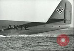 Image of Blohm and Voss BV 222 Wiking Hamburg Germany, 1941, second 38 stock footage video 65675061605