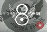 Image of B-17 Flying Fortress bombers European Theater, 1944, second 7 stock footage video 65675061609