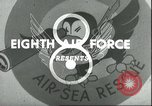 Image of B-17 Flying Fortress bombers European Theater, 1944, second 8 stock footage video 65675061609