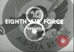 Image of B-17 Flying Fortress bombers European Theater, 1944, second 9 stock footage video 65675061609