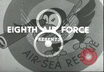Image of B-17 Flying Fortress bombers European Theater, 1944, second 11 stock footage video 65675061609