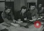 Image of 8th Air Forces fighter pilots European Theater, 1945, second 15 stock footage video 65675061611