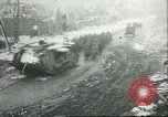 Image of British Mark IV tanks knocked out by German artillery Cambrai France, 1917, second 55 stock footage video 65675061614