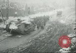 Image of British Mark IV tanks knocked out by German artillery Cambrai France, 1917, second 56 stock footage video 65675061614