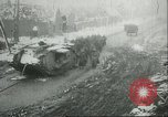 Image of British Mark IV tanks knocked out by German artillery Cambrai France, 1917, second 57 stock footage video 65675061614
