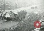 Image of British Mark IV tanks knocked out by German artillery Cambrai France, 1917, second 58 stock footage video 65675061614