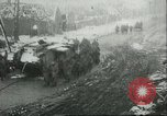Image of British Mark IV tanks knocked out by German artillery Cambrai France, 1917, second 59 stock footage video 65675061614