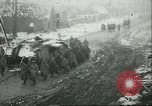 Image of British Mark IV tanks knocked out by German artillery Cambrai France, 1917, second 60 stock footage video 65675061614