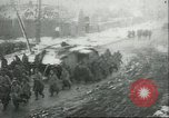 Image of British Mark IV tanks knocked out by German artillery Cambrai France, 1917, second 61 stock footage video 65675061614