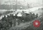 Image of British Mark IV tanks knocked out by German artillery Cambrai France, 1917, second 62 stock footage video 65675061614